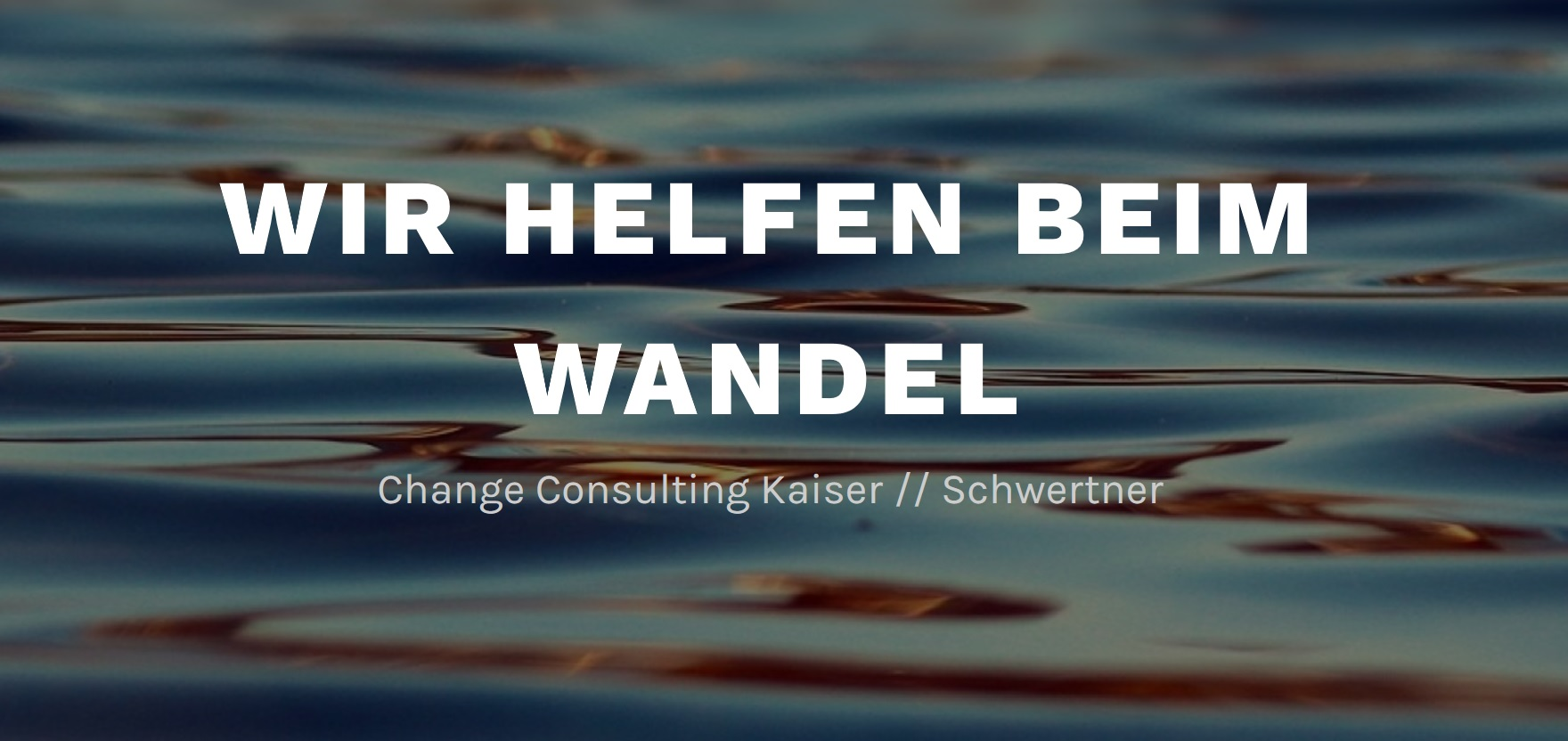 Change Consulting Kaiser//Schwertner
