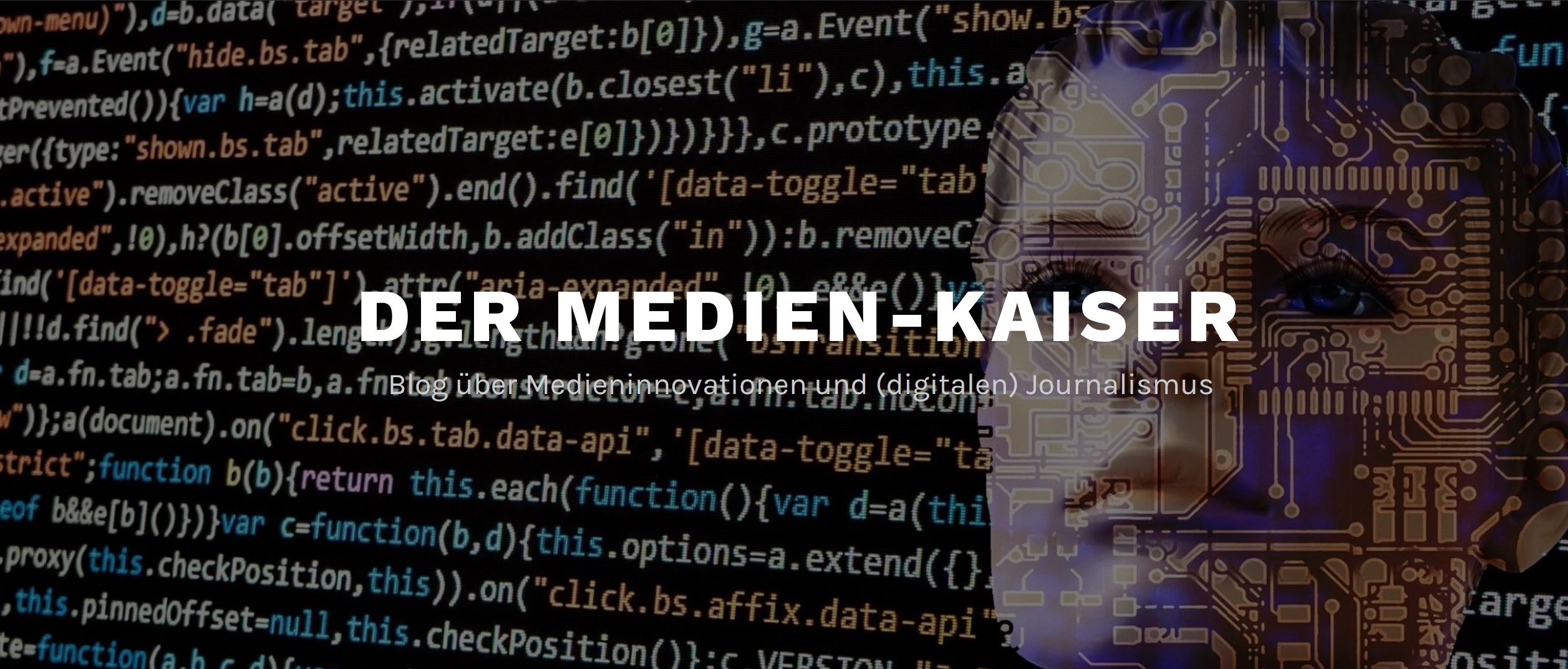 Logo des Weblogs vom Medien-Kaiser