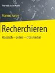 Cover Buch Recherchieren von Markus Kaiser
